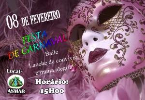 ASMAB cartaz carnaval 2016